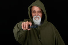 Senior Tough Guy Royalty Free Stock Images