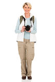 Senior tourist camera Royalty Free Stock Photo
