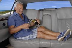 Senior travel. Royalty Free Stock Images