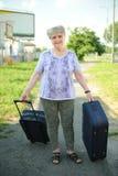 Senior traveller Royalty Free Stock Image