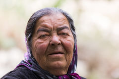 Senior Turkish woman Royalty Free Stock Photography