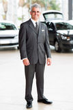Senior vehicle sales consultant Royalty Free Stock Photography