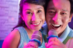 Senior Vietnamese couple Royalty Free Stock Photography