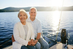 Senior voyagers Royalty Free Stock Photography