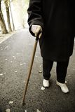 Senior walk Stock Images