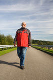 Senior Walking Royalty Free Stock Images