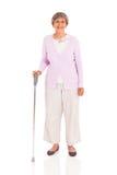 Senior walking cane Royalty Free Stock Images