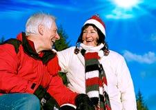 Free Senior Winter Fun 3 Stock Image - 11661371