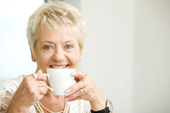 Senior woman Royalty Free Stock Photos