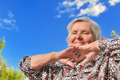 Senior woman. Stock Image