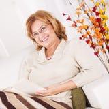 Senior woman Stock Photography