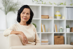 Free Senior Woman At Home Stock Images - 59752054