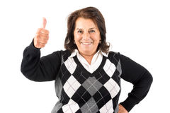 Senior woman Stock Photography