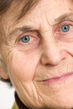 Senior woman Close up Royalty Free Stock Photos