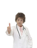 Senior woman doctor Stock Photo