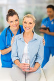 Senior woman doctor Stock Photo