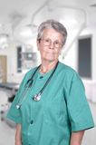 Senior woman doctor Royalty Free Stock Images