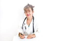 Senior woman doctor Stock Photography