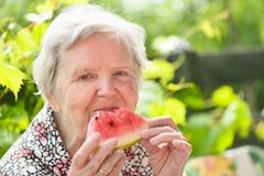 Senior woman. Royalty Free Stock Photo