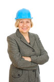 Senior woman engineer Royalty Free Stock Image