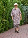 Senior woman. Royalty Free Stock Images