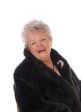 Senior woman having fun. Royalty Free Stock Photo