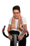 Senior woman keeping fit Royalty Free Stock Images