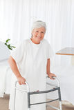 Senior woman looking at the camera Royalty Free Stock Photography