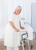 Senior woman looking at the camera Royalty Free Stock Images