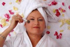 Free Senior Woman Make-up Royalty Free Stock Images - 1824119