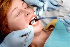 Free Senior Woman On The Dental Operation. Stock Photo - 47579690
