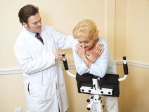 Senior Woman Physical Therapy Royalty Free Stock Photo