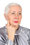 Senior Woman Portrait Royalty Free Stock Photos