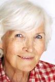 Senior woman portrait Royalty Free Stock Photo