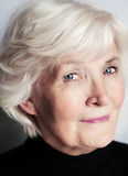 Senior woman portrait Stock Images