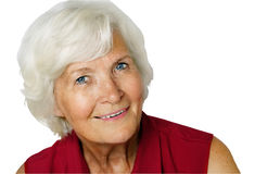 Senior woman portrait Stock Image