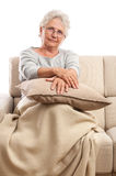 Senior woman portrait Stock Image