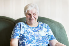 Senior woman portrait Royalty Free Stock Images