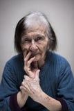 Senior woman Royalty Free Stock Photo