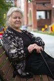 Senior woman portrait Royalty Free Stock Photography