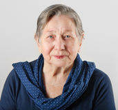 Senior woman\'s portrait Royalty Free Stock Photo