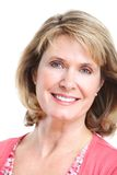 Senior woman. Royalty Free Stock Image