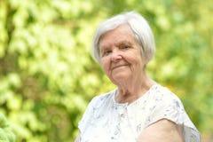 Senior woman. Stock Photos