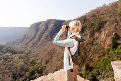 Senior woman standing Royalty Free Stock Photography
