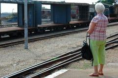 Free Senior Woman Waiting Stock Photo - 1950050