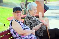 Senior women Royalty Free Stock Photos