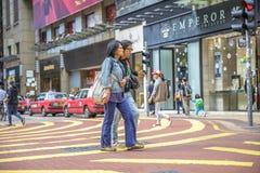 Senior women Hong Kong Stock Images