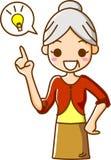 Senior Women's inspiration Stock Photo