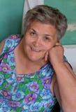 Senior women smiling Stock Photography