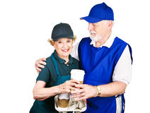 Senior Workers Royalty Free Stock Photos